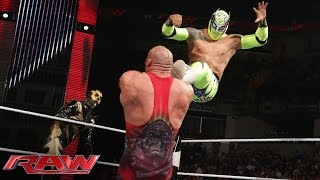 Goldust & Sin Cara vs. Ryback & Curtis Axel: Raw, June 2, 2014