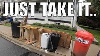 SUMMER CLEANING TRASH PICKING SCORE! Trash Picking Ep. 152
