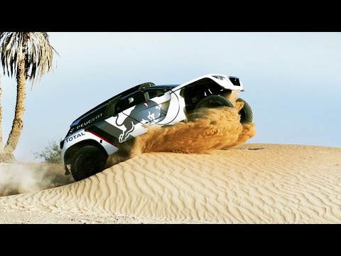 First Look at the PEUGEOT 3008 DKR In Action Dakar Rally 2017
