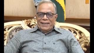 President praises bdnews24.com's Bangla SMS news service