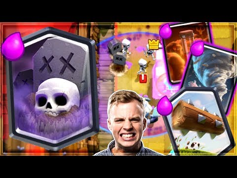 Xxx Mp4 Clash Royale QUAD SPELL GRAVEYARD Meta Broken 3gp Sex