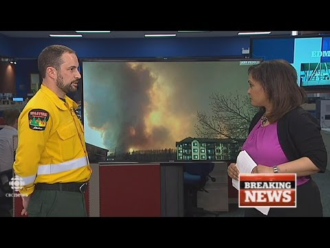 CBC News Edmonton Fort McMurray wildfire special May 3 2016