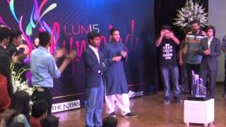 Zaid Ali Tahir Message for all Pakistanis 23 March 2015 LUMS University Lahore Pakistan