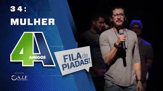 MULHER - FILA DE PIADAS - #34