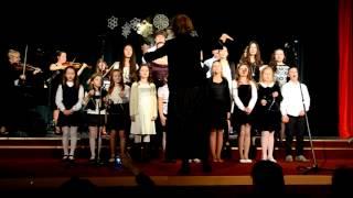 2 ZUŠ Vianočný koncert 2014 12 16
