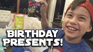 OPENING BIRTHDAY PRESENTS!!! Hyper Toss & Candy Unboxing!