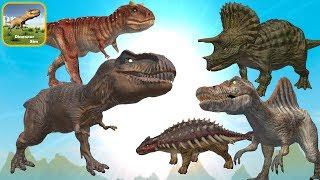 Dinosaur Simulator Dino Game With 5 Of 20 Dinosaur Types - IOS Gameplay