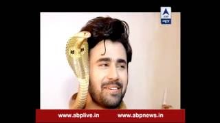 Noori and Arjun play with a SNAKE!!!