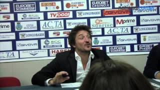 Pozzecco show dopo la vittoria contro Scafati