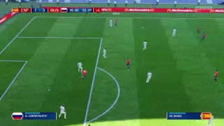 PS4 FIFA 18 Gameplay Spain vs Russia [HD]