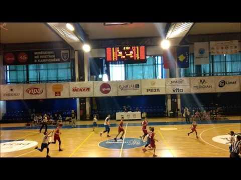 Basketball U14 KB Prishtina vs KB Rahoveci 04.03.2017