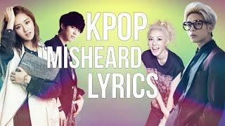 KPOP Misheard Lyrics