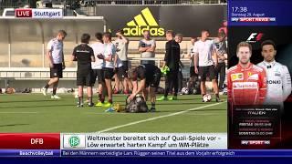 Joachim Löw/die Mannschaft - Training in Stuttgart (SSN live) 29.08.17