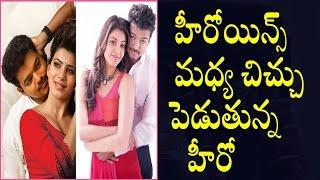 Samantha and Kajal Agarwal Fight for  Vijay 61    హీరోయిన్స్ మధ్య చిచ్చుపెడుతున్న హీరో ..!