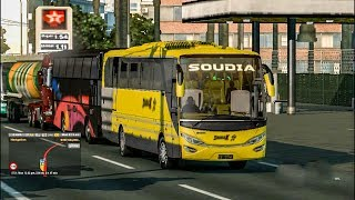 BD All Bus caught by Soudia X - ets2 BD version