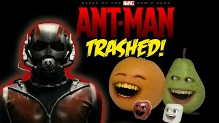 Annoying Orange - ANT-MAN TRAILER Trashed!!