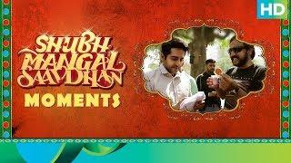 Shubh Mangal Saavdhan Moments   On Location Making   Ayushmann & Bhumi Pednekar