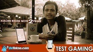 Redmi Note 2 Prime Gaming Test