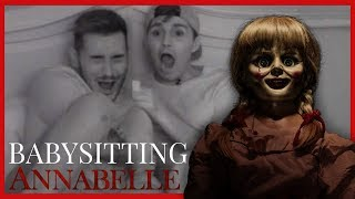 BABYSITTING THE ANNABELLE DOLL!