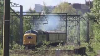 25/05/2013 55022 Unit moves between Yoker Depot and Kilmarnock Works