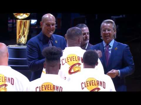 Cleveland Cavaliers' Full Ring Ceremony - NBA Champions 2016