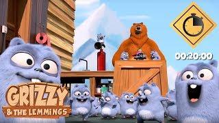 20 minutes de Grizzy & les Lemmings // Compilation #02 - Grizzy & les Lemmings