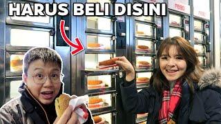 BELI MAKANAN DI MESIN FASTFOOD !! CANGGIH BANGET !!