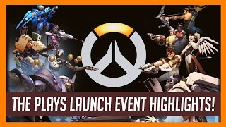 Overwatch Launch Tournament Highlights from The Plays! Creation eSports, REUNITED, Rogue & SG-1