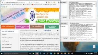Indian visa new update softer For Video Tuesday 15/11/2016