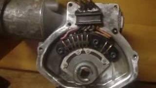 Bob's Packard pushbutton actuator, up close