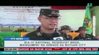 [PTVNews] Ika-37 NAtional Reservist Week, matagumpay na idinaos sa Butuan City [07|26|16]