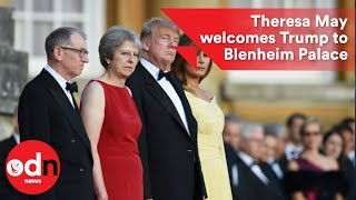 US President Donald Trump visits the UK