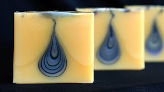 Teardrop Soap Technique - Video Timeline & Recipe Below - Homemade Soap - Great Cakes Challenge