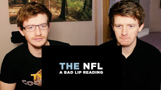 NFL TRY NOT TO LAUGH OR GRIN CHALLENGE! (Bad Lip Reading) #Reaction!