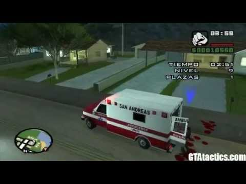 GTA San Andreas Misiones de la Ambulancia Tutorial