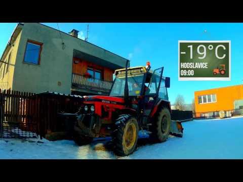 Zetor 7745 Studen� start 19°C Cold start 60FPS Original sound