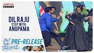 Dil Raju - Ram - Anupama - DSP Dance on Stage @ Hello Guru Prema Kosame Pre Release Event