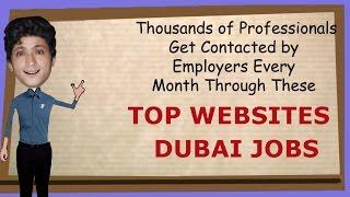 Jobs in Dubai---Job Search Websites