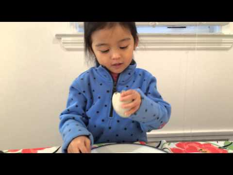 How to eat balut as told by a 3 year old Filipino American from NJ