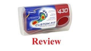 Dr. Scholls Custom Orthotics Review