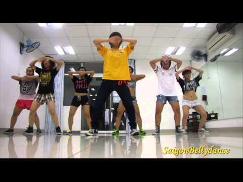 La La La Naughty Boy ft. Sam Smith Girls style Hiphop Ms. Puna SaigonBellydance