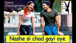 NASHE SE CHAD GAYE OYE SONG#DANCE VIDEO#MOVIE BEFIKRE#CHOREOGRAPHY BY MAX-R DANCE POINT