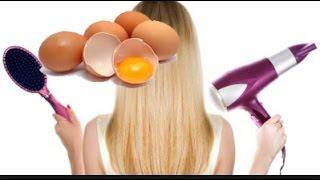 O MELHOR ALISAMENTO NATURAL , e que funciona COM OVO, Hidratação no cabelo com ovo