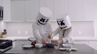 Cooking with Marshmello: How To Make Chocolate Marshmello Pie (Mother