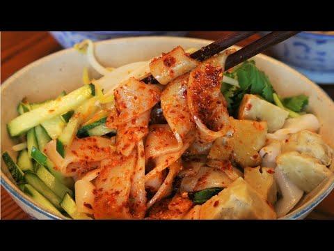 Xxx Mp4 Xian Famous Foods Chinese Cold Noodles Recipe 凉皮 Liangpi 3gp Sex