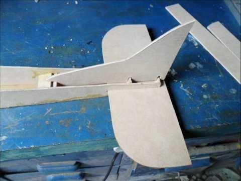 aeromodelo caseiro como fazer parte 1.criar é arte