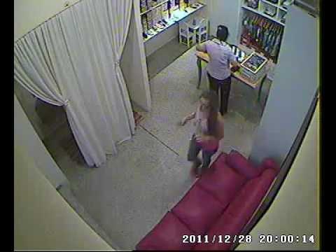 Ladrona en acción