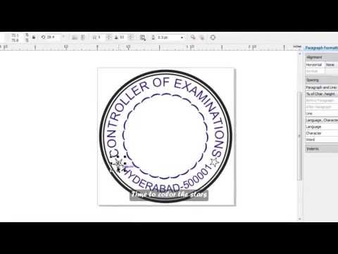 Xxx Mp4 How To Make A Simple Stamp In Corel Draw English Subs 3gp Sex