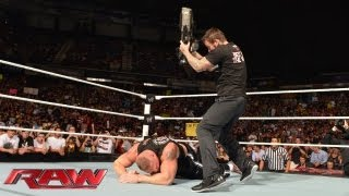 CM Punk vs. Paul Heyman: Raw, August 12, 2013
