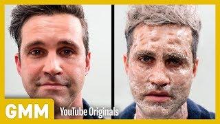 Men Test the Grandma Facial